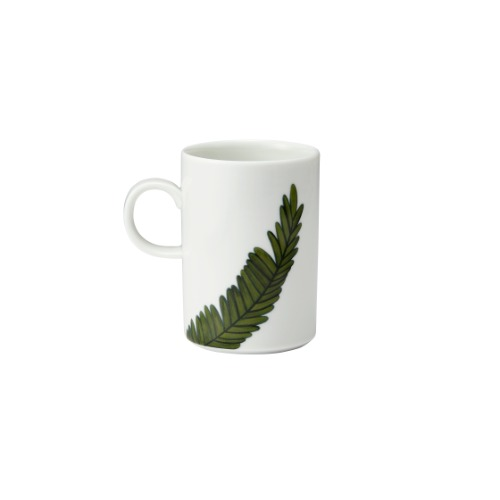 Nanan Leaf Straight Mug